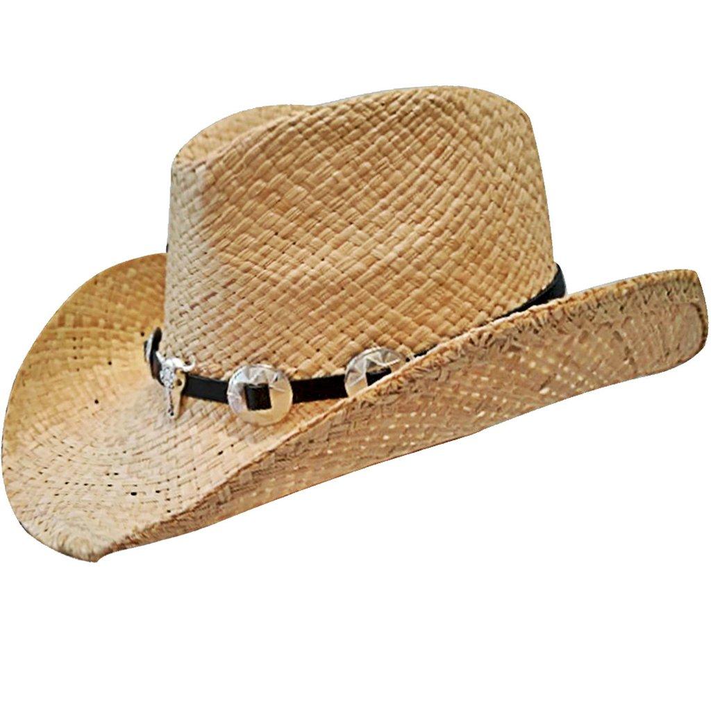Novo. Sombrero en celulosa simil rafia modelo cowboy. 77e9a0aaf31
