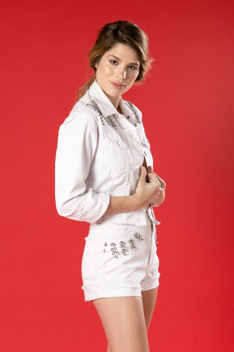 CAMPERA MARGARITA OFF WHITE
