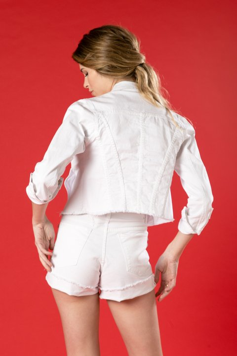 CAMPERA MARGARITA OFF WHITE - NAIMA