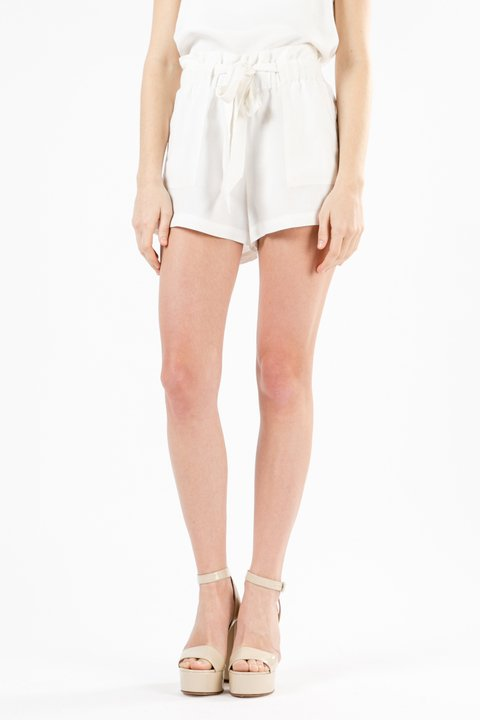 SHORT TOKIO OFF WHITE - NAIMA