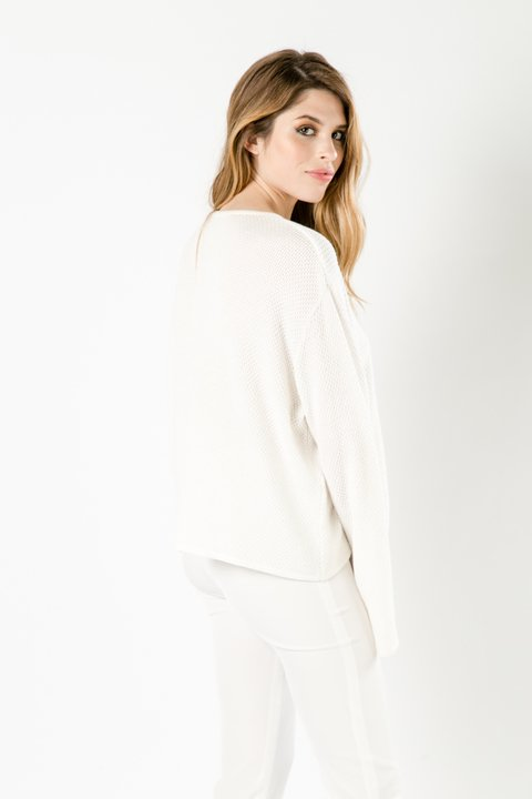 SWEATER JAPON OFF WHITE en internet