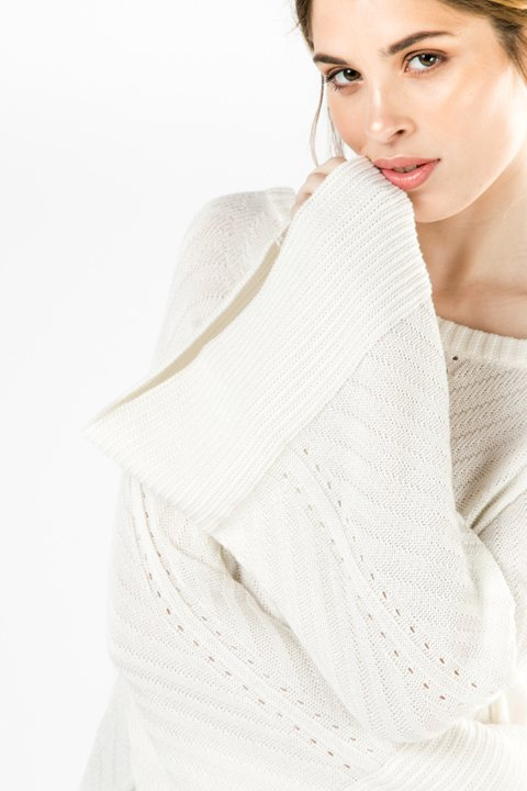 SWEATER OKORU OFF WHITE