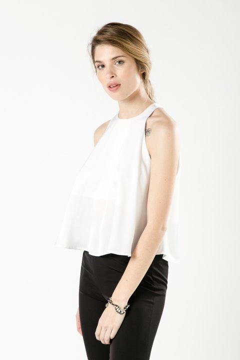 TOP HANA OFF WHITE - NAIMA