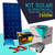 Kit Solar  17 / 18 Corriente Alterna 1500w + Panel 270w + 2 Bat. 75ah