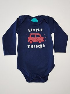 Body para Bebê Azul Little Things