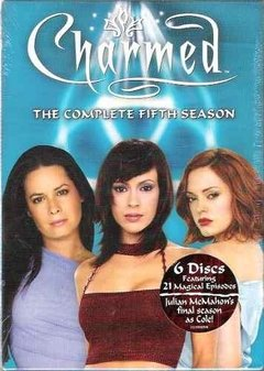 Dvd Charmed The Complete Fifth Season - Novo / Lacrado -(02)