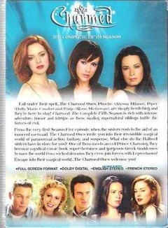 Dvd Charmed The Complete Fifth Season - Novo / Lacrado -(02) - comprar online