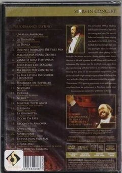 Dvd The Best Of Luciano Pavarotti The Man And His Music (50) - comprar online