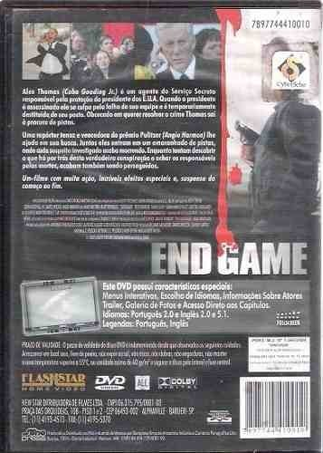Dvd End Game -  (99) - comprar online