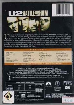 Dvd U2 Rattle And Hum (51) - comprar online