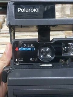 Imagem do Camera Marca Polaroid Modelo 636 Close Up