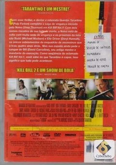 Dvd Kill Bill - Volume 2- (40) - comprar online