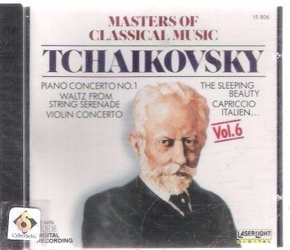 Cd Peter Tchaikovsky - Masters Of Classical Music (35)