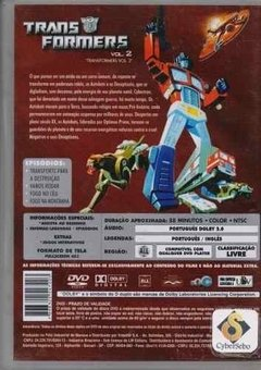 Dvd Transformers Volume 2 (49) - comprar online