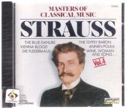 Cd Johann Strauss - Masters Of Classical Music Strauss (35)