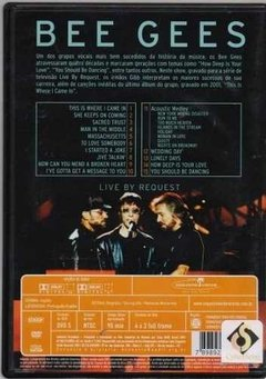 Dvd Bee Gees Live By Request (55) - comprar online