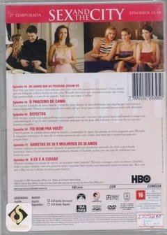 Dvd Sex And The City 2ª Temporada Disco 3 (50) - comprar online