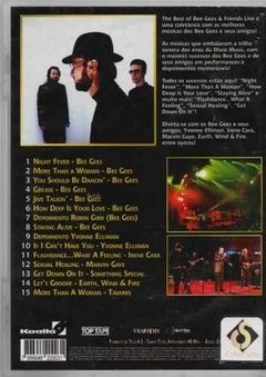 Dvd The Best Of Bee Gees E Friends Live (55) - comprar online
