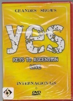 Dvd Yes Keys To Ascension Live (50)