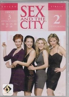 Dvd Sex And The City 2ª Temporada Disco 3 (50)