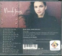 Cd Norah Jones - Come Away With Me (34) - comprar online
