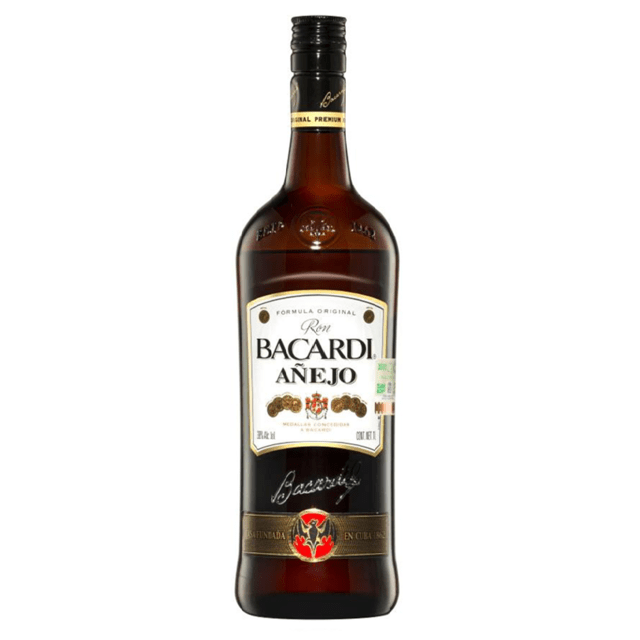 Bacardí Añejo . Ron . 750 ML