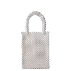 ABIGAIL WHITE BAG