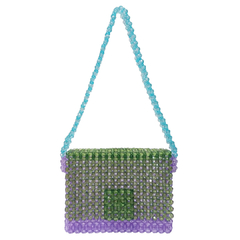 MINI LAVENDER SHOULDER BAG