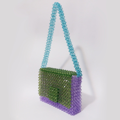 MINI LAVENDER SHOULDER BAG - comprar online
