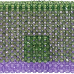MINI LAVENDER SHOULDER BAG - BEADS