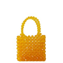 NAOMI HONEY BEADED BAG
