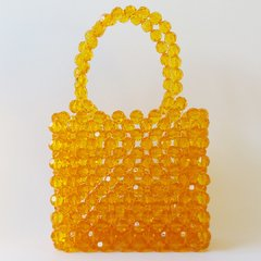NAOMI HONEY BEADED BAG - comprar online