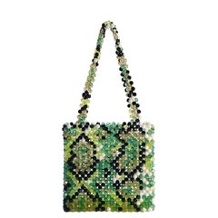 OPHIDIA SNAKE GREEN BAG