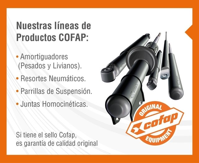 Kit 2 Amortiguadores Traseros Golf 4 Bora New Beetle Cofap en internet