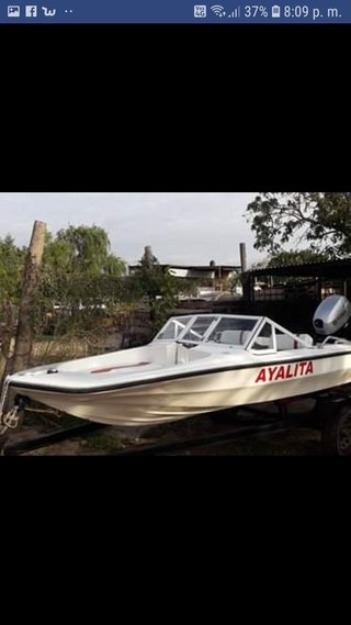 Pescadora año 80 con 40hp titan c/power 2014