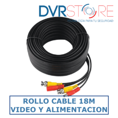 ROLLO CABLE X 18 M - VIDEO / ALIMENTACION