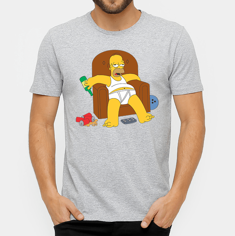 e42d6548b CAMISA HOMER SIMPSONS DE RESSACA