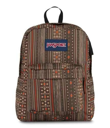 Mochila Jansport Superbreak Down Town Brown Camo S Jst5010ef