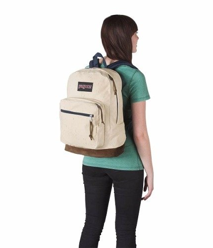 Imagen de Mochila Jansport Right Pack Expr Natural Speck Js00 Tzr6-0tv