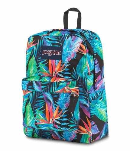 Mochila Jansport Superbreak Vivid Paradise Js00 T501-3n3 - comprar online 84f9a7a4c3934