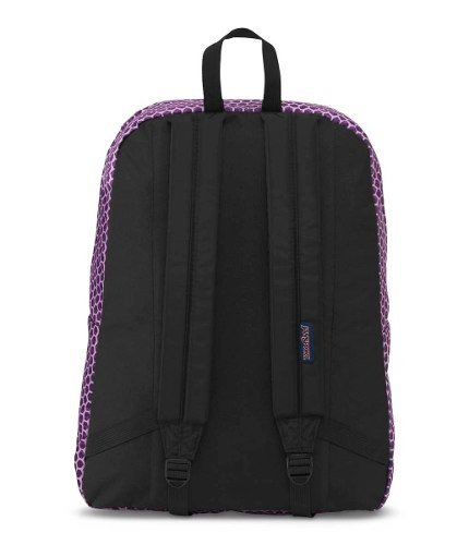 Mochila Jansport Superbreak Urban Optical Purp Js00 T501-3g6 - comprar online