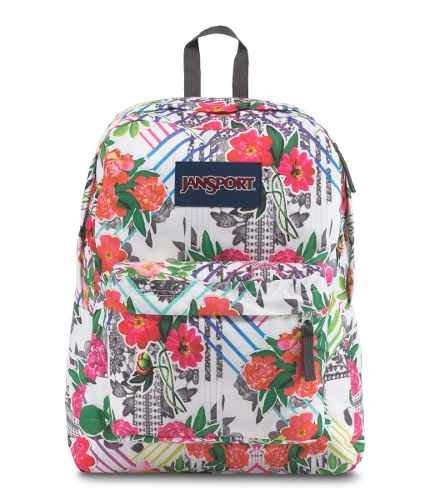 Mochila Jansport Superbreakcollage Floral Js00 T501-42f