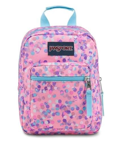 Lunchera Jansport Big Break Pink Sparkle Dot Js0a 352l-4z8