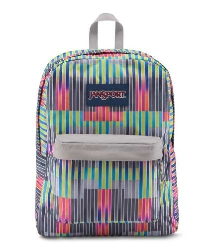 Mochila Jansport Superbreak Statics Stripes Js00 T501-41y