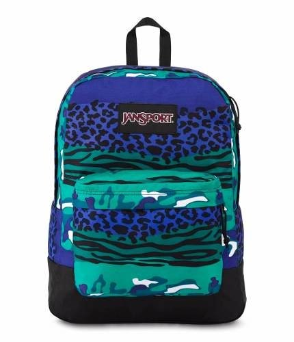 Mochila Jansport Superbreak Black Label Animal Js00 T60g-32y