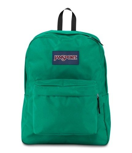 Mochila Jansport Superbreak Varsity Green Js00 T501-3p5