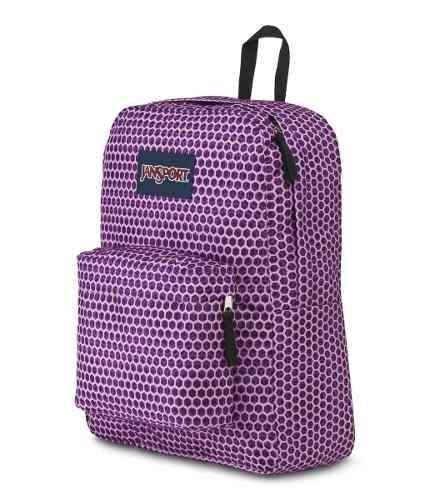 Mochila Jansport Superbreak Urban Optical Purp Js00 T501-3g6 - JanSport Argentina