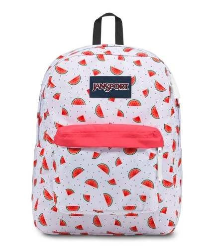 Mochila Jansport Superbreak Watermelon Rain Js00 T501-48k