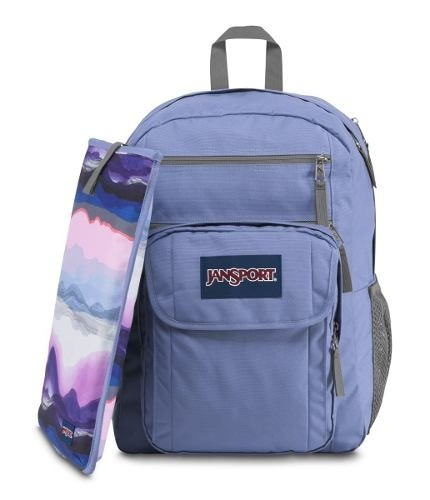 Mochila Jansport Digital Student Bleached Denim Js00 T69d0gx