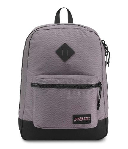 Mochila Jansport Super Fx Grey Optical Zigzag Js0a 2sdr-55q